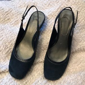 Nine West 7.5 kanetao slingbacks
